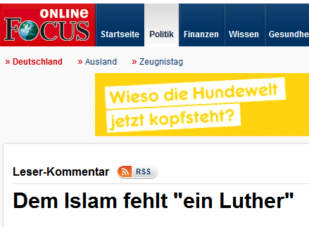 lutherfocus