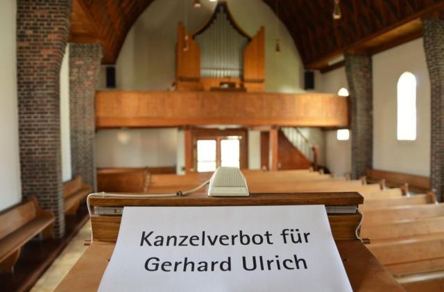 Kanzelverbot Gerhard Ulrich ins Bild gesetzt
